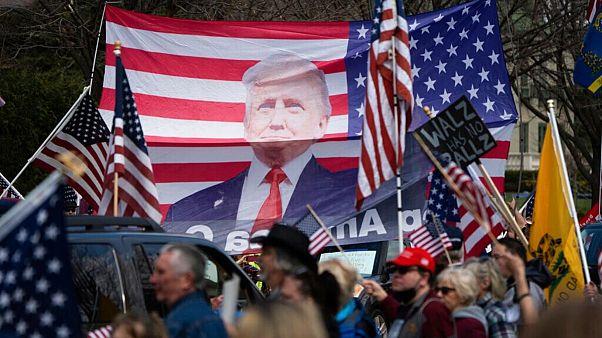 اعتراض به قرنطینه در آمریکا؛ ترامپ از «زیاده روی» فرماندارها انتقاد کرد