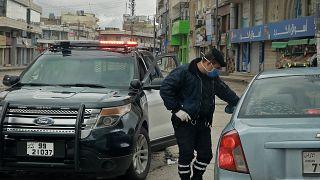 تدابير حظر التجول في الأردن
