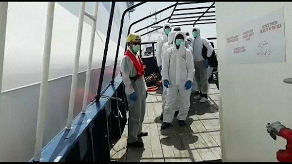 Altri migranti sulla Rubattino per trascorrere la quarantena