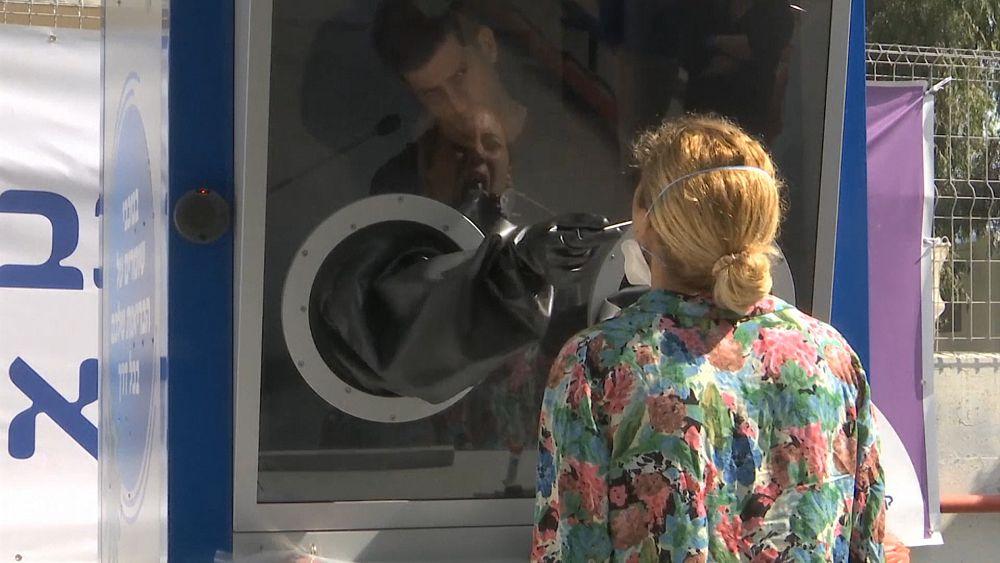 Coronavirus: la cabina de pruebas de Israel permite la separación ...