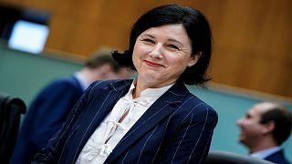 نائبة رئيسة المفوضية الأوروبية، فيرا جوروفا
