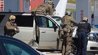 در مرگبارترین تیراندازی در تاریخ کانادا دستکم ۱۶ نفر کشته شدند