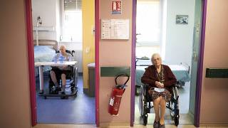 Virus Outbreak Elderly Visits