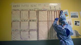 Virus Outbreak Italy Lifesavers Photo Gallery