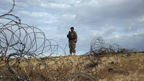 Afghanistan'da bir ordu mensubu