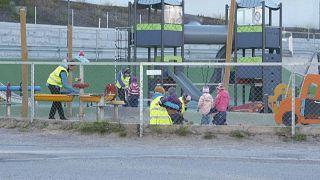 شاهد: عودة أطفال الحضانات في النرويج بعد أكثر من شهر من الإغلاق