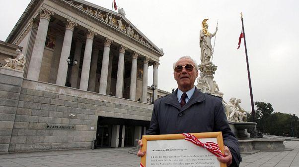 Meghalt az osztrák, aki a nácik ellen harcolt