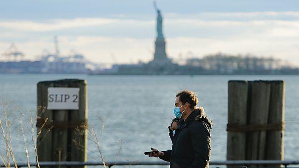 Séta New Yorkban a járvány idején