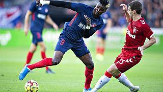 DenmarkDenmark Soccer Europa League FC Midtjylland - Rangers FC