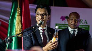 Madagaskar Cumhurbaşkanı Andry Rajoelina