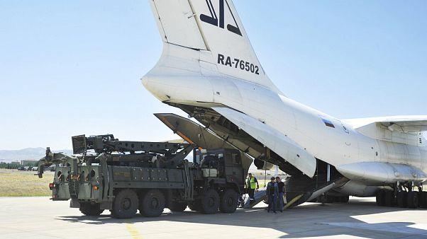 Türkiye'nin aldığı S-400 hava savunma sistemi Ağustos ayında Ankara'da Mürted Hava Üssüne varmıştı