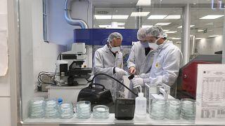 A BME Villamosmérnöki és Informatikai Kar új laboratóriuma, 2020. április 20-án.