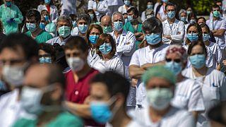 Spanien: Wieder Anstieg bei Corona-Toten
