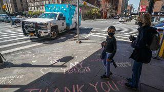 شاهد: الصمت يخيّم على مدينة نيويورك بسبب إجراءات الحجر الصحي