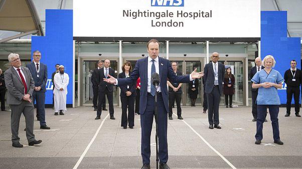 İngiltere Sağlık Bakanı Matt Hancock