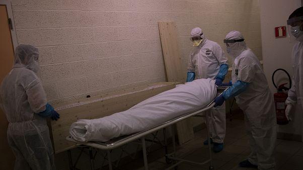 صورة من مستشفى بلجيكي