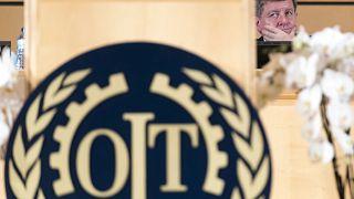 بريتون غي ريدر، المدير العام لمنظة العمل الدولية خلال الدورة 108 في جينيف -2019/06/10