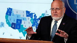 ABD Hastalık Kontrol ve Önleme Merkezi Direktörü Robert Redfield