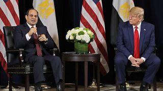 Donald Trump,Abdel-Fattah el-Sissi
