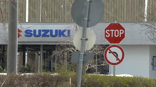 Újraindul a termelés az esztergomi Suzukinál