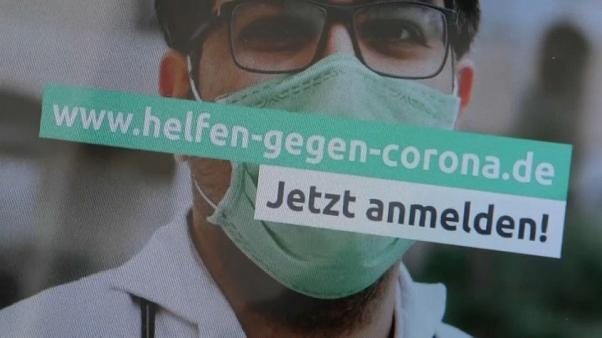 COVID-19: Νέα ιστοσελίδα για εθελoντές στη Γερμανία