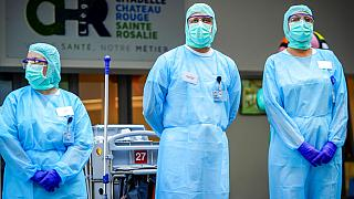 Virus Outbreak Belgium King