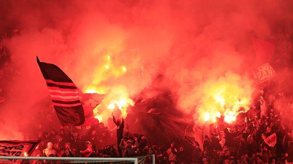 APTOPIX Netherlands Soccer Champions League