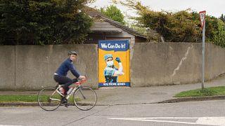Dublin aposta na arte de rua para combater a pandemia de covid-19