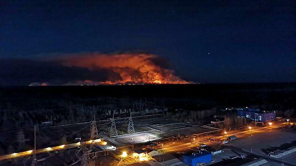 Ελλάδα: Απειροελάχιστη η επίπτωση από την πυρκαγιά στο Τσερνόμπιλ