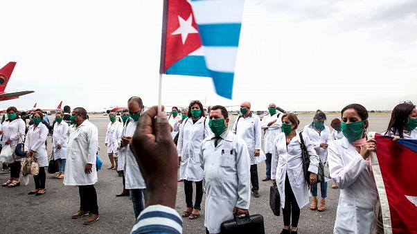 Cuban doctors arrive in Angola to help battle coronavirus