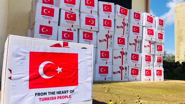 Türkiye'nin Lübnan'a yaptığı gıda yardımı (Arşiv)