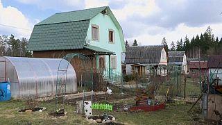 Viele Russen verbringen den Corona-Lockdown in ihrer Datscha