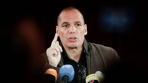 Former Greek Finance Minister Yanis Varoufakis at a news conference about the launch of the left-wing 'Democracy in Europe Movement 2025' in Berlin, Germany, Feb. 9, 2016