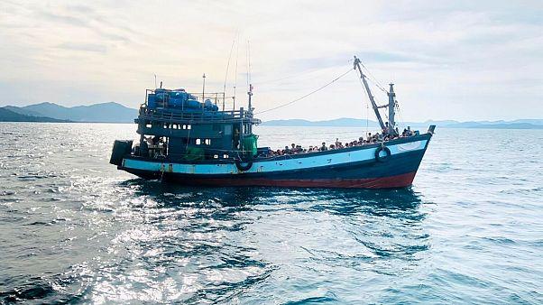 نگرانی سازمان ملل از سرنوشت مهاجران روهینگیایی سرگردان در دریا
