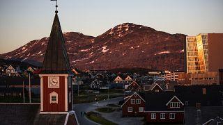 ABD Başkanı Donald Trump'ın satın almak istediği Danimarka'ya bağlı Grönland Adası'nın başkenti Nuuk