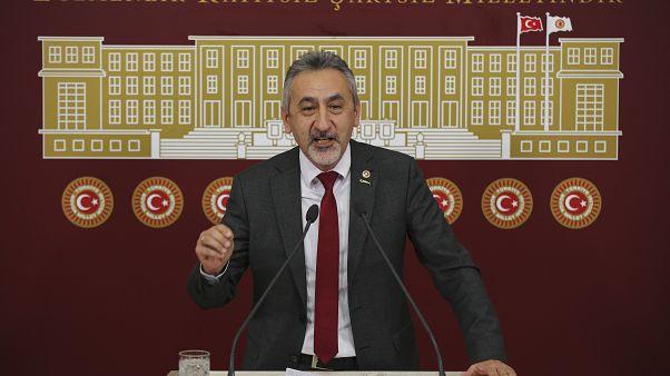 CHP Ordu Milletvekili Mustafa Adıgüzel, TBMM'de basın toplantısı düzenledi