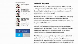 Magyar nyelven követel bocsánatkérést egy lengyel lap a hamisított Tusk-fotó miatt