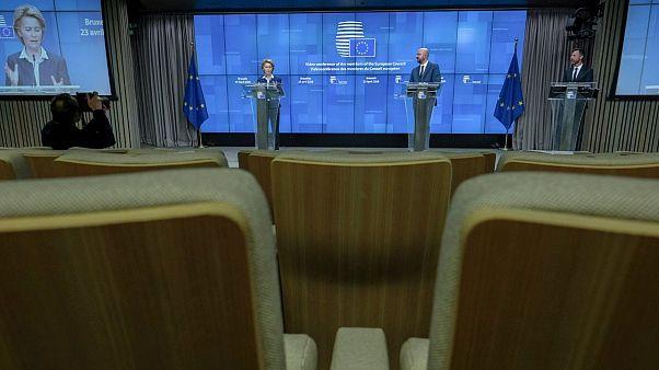 رهبران اروپا بسته حمایتی ۵۴۰ میلیارد یورویی را تصویب کردند