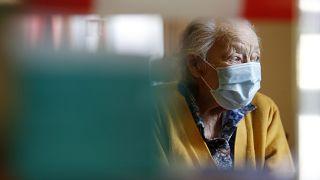 Virus Outbreak Nursing Home Visits