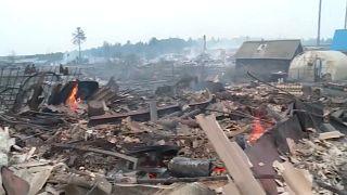 В Сибири сгорели более 100 домов