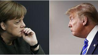 Trump e le iniezioni di disinfettante vs il pensiero scientifico della ricercatrice Angela Merkel