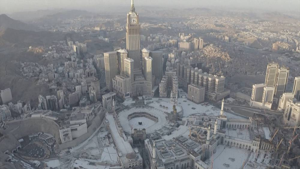 Ramadan Under Lockdown Aerial Images Show Mecca Completely Empty Euronews