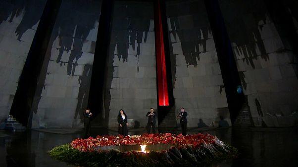 ویدیو؛ مراسم بزرگداشت یکصد و پنجمین سالگرد قتل عام ارامنه