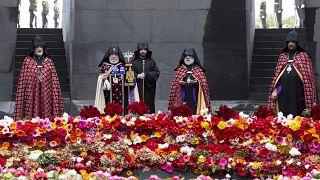 Virus Outbreak Armenia Armenia Genocide