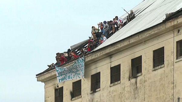 Motín en una cárcel argentina tras registrarse un caso de coronavirus