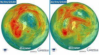 Kopernik Atmosfer Gözlem Servisi: Kuzey Kutbu üzerindeki ozon tabakası deliği kapandı