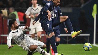 مبارة كرة قدم ضمن الدوري الفرنسي الأول جمعت نادي باريس سان جيرمان بنادي جيرونديين دي بوردو في  ملعب بارك دي برانس في باريس، في 23 فبراير 2020