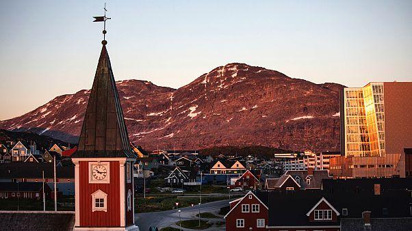Grönland'ın başkenti Nuuk