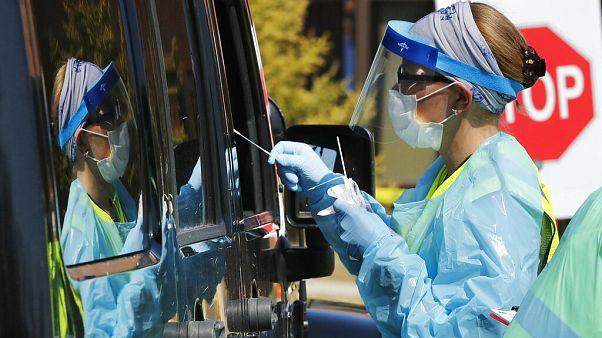 APTOPIX Virus Outbreak Michigan Testing