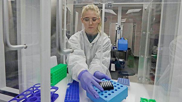 Laboratóriumi vizsgálat Texasban